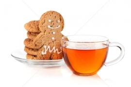 Черный чай Имбирный Пряник