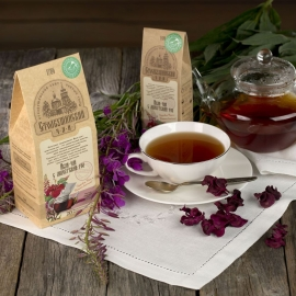 Иван-чай с лепестками роз 100гр